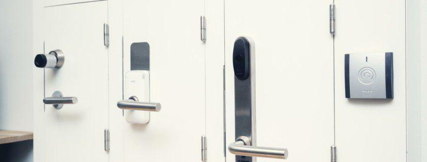 forskellige låse