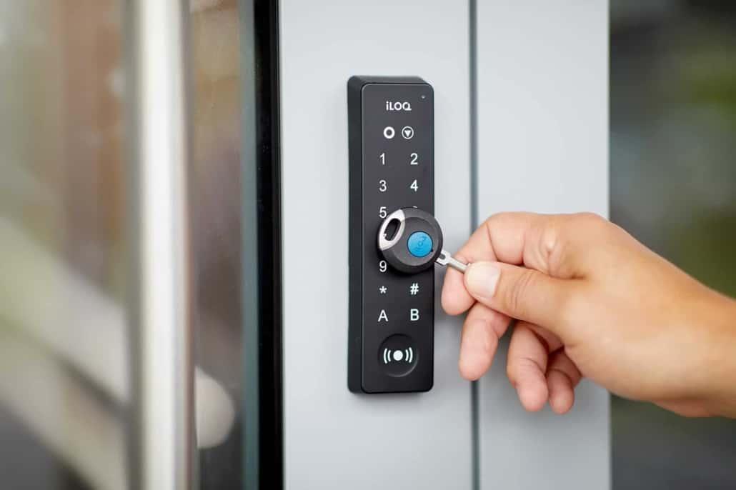 digitalt låsesystem med kode
