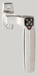 dørhåndtag med lås